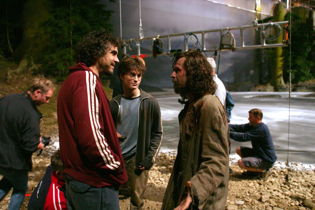 Alfonso directs Daniel and Gary - Harry Potter and Prisoner of Azkaban Behind the Scenes