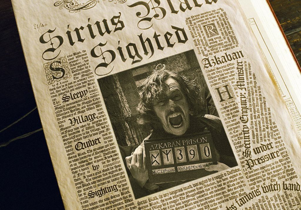 Sirius wanted poster in Prophet