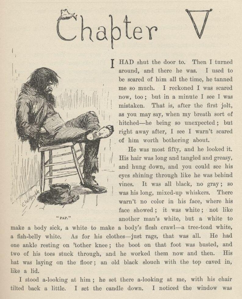 Adventures of Huckleberry Finn Chapter 5