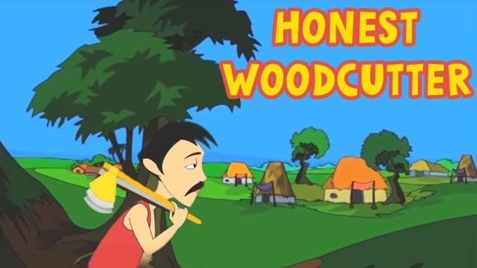 Honest woodcutter Universal Stories