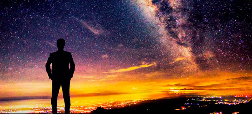 Mire hacia el cielo