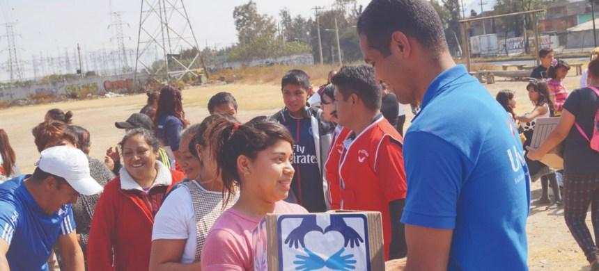 T-Ayudo alegra a cientos de familias de Iztapalapa
