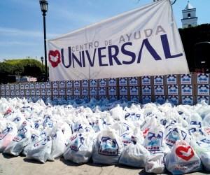T-Ayudo repartió 1 080 prendas y cientos de despensas en Jiutepec, Morelos