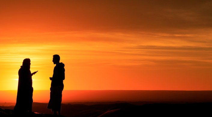 ¿Usted es sobrino o hijo de Abraham?