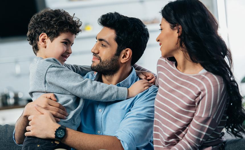 Padres amorosos educan hijos más exitosos