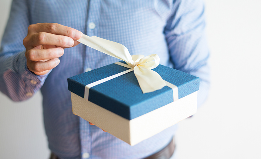 Desenvuelva su regalo