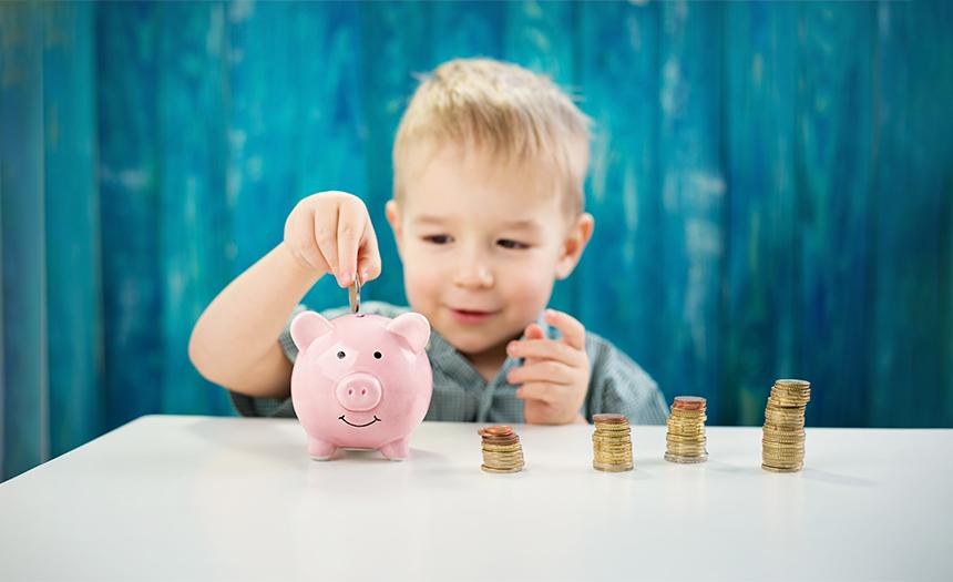 Educación financiera: enséñales a tus hijos a ahorrar