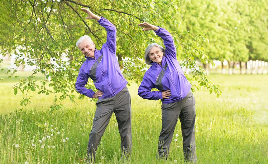 Actividad física para adultos mayores: ejercicios básicos