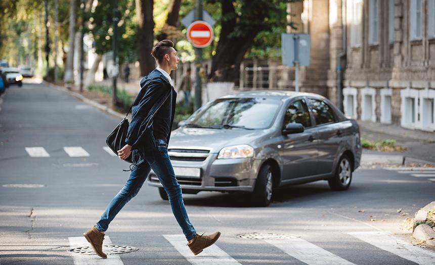 Reglas básicas: ¿cómo caminar seguro a tu destino?