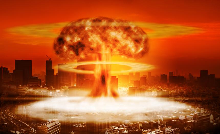 La llegada de una guerra nuclear
