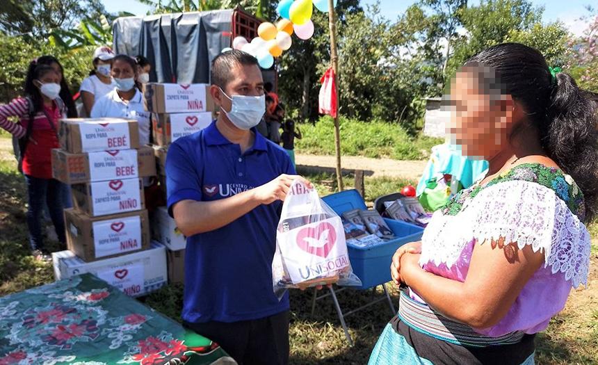 Comunidad indígena en Chiapas recibe a la UniSocial