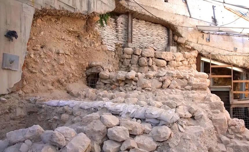 Arqueólogos descubren una nueva sección del muro de Jerusalén