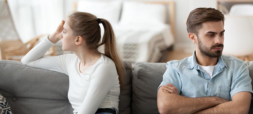 Divorcio emocional: siguen juntos, pero son como extraños