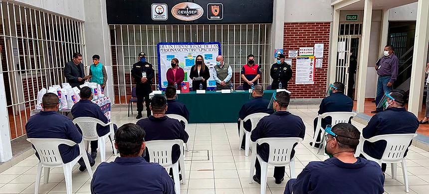 La UEC es reconocida por las autoridades por su labor en Centros Penitenciarios