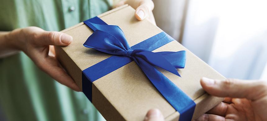 Necesitas recibir este regalo para ser feliz