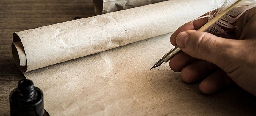 Costumbres de la Biblia: los escribas