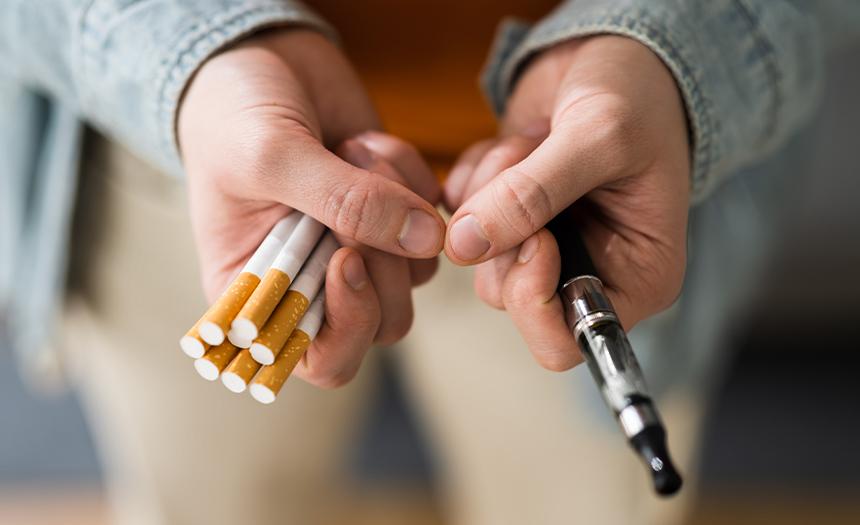 Los cigarrillos electrónicos no combaten la adicción
