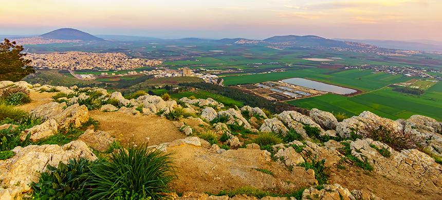Lugares de la Biblia: Monte de la Transfiguración