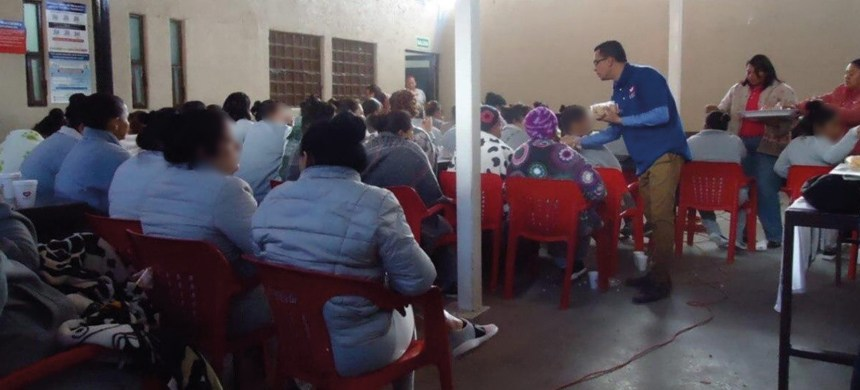 La Universal trabaja constantemente en las cárceles con la finalidad de llevar la Palabra de Dios a los reclusos