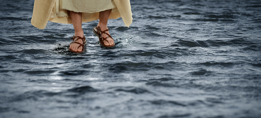 Jesús calma la tempestad