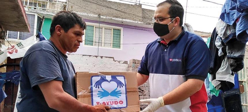 T-Ayudo entregó más de 175 toneladas de alimento