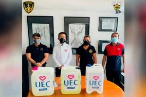 Donación de la UEC