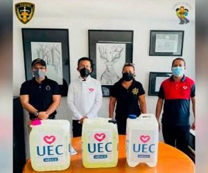 Donación de la UEC llegó a favor de quienes están privados de su libertad