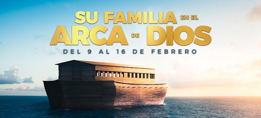 Su familia en el Arca de Dios