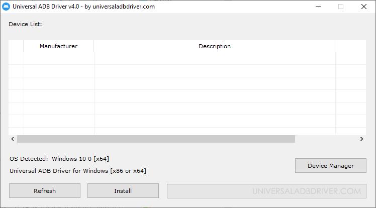Universal ADB Driver v4.0