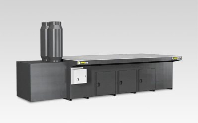 DD 5x10 Dry DownDraft Table Dust Collector