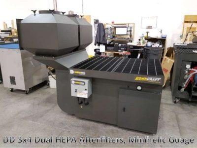 DD 3x4 Downdraft table HEPA