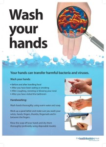 Hand washing Office Cleaning Germs