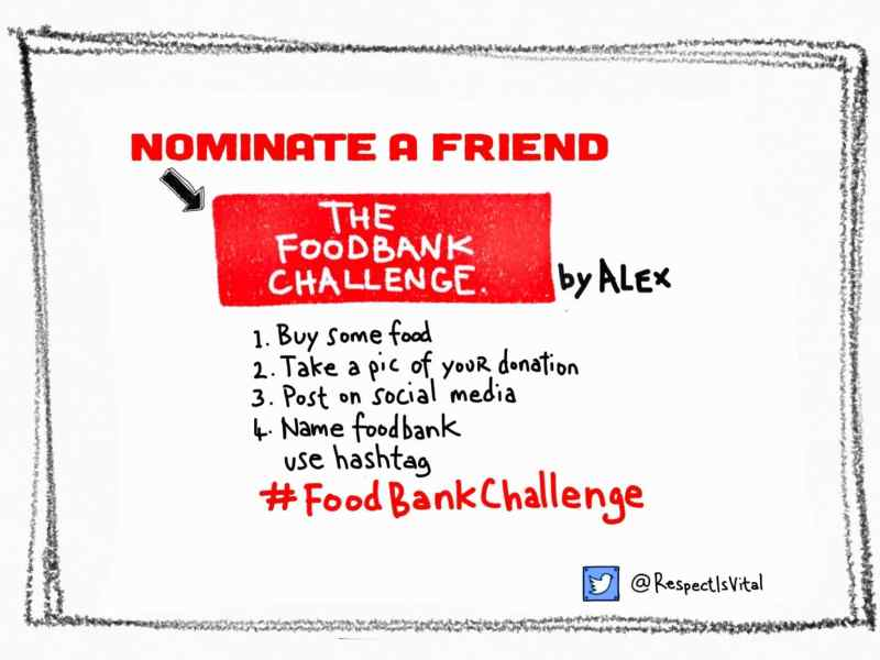 #FoodBankChallenge Summer Holiday Campaign Launches