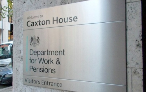 DWP Sign Caxton House