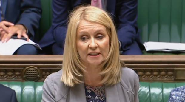 McVey begs think tank for ideas to rescue Universal Credit and 'bars' BBC from speech