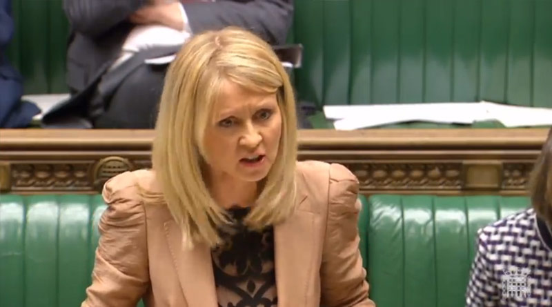 Esther McVey blasted by NAO head and looks set for the chop for misleading parliament
