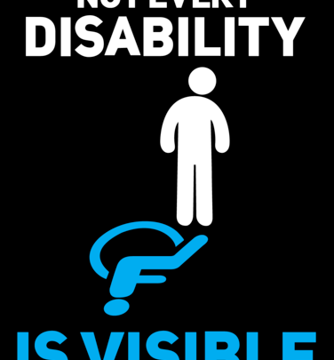 Hidden disabilities & the constant judgement