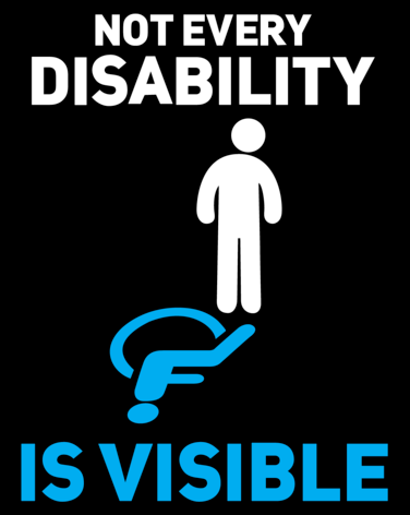 Don't judge what you cannot see – A poem on hidden disabilities