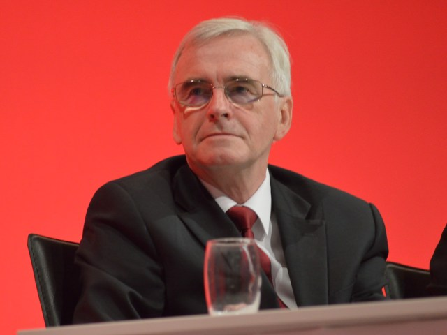 John McDonnell 2016 Labour Party Conference