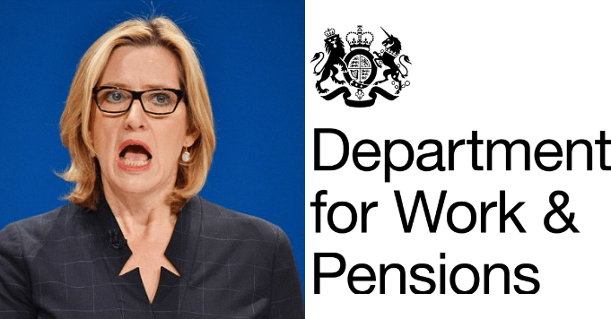 "Amber Rudd ""happy"" with 5 week Universal Credit wait"