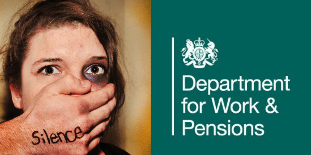 """Prove you're a victim of domestic abuse"" say DWP"