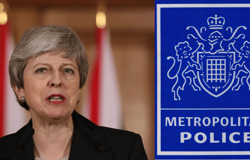 EXCLUSIVE — Theresa May Reported To Police For Endangering MP's Safety