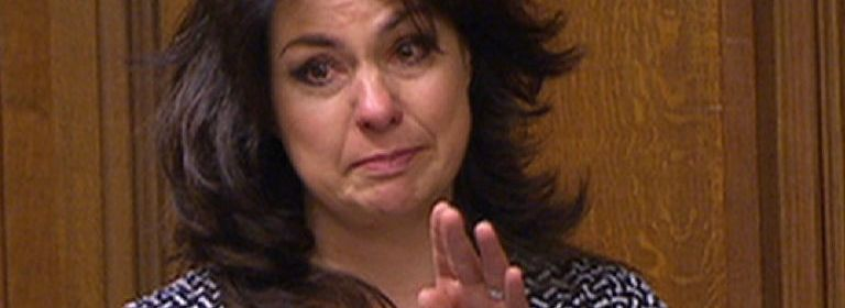 Heidi Allen MP Crying in the commons