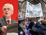 Labour Shadow Chancellor John McDonnell and the BackTo60 pension group