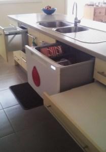Kitchen with drawer storage 4