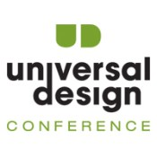 Logo for the 2014 Universal Design conference.