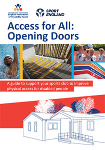 Access for All front cover. Physical access and sport.