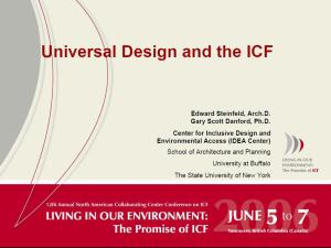 Steinfeld Danford 2006 ICF presentation
