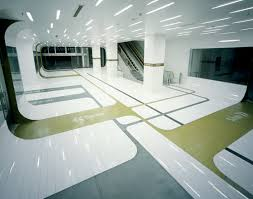 A building interior with lines on the floor. Is UD measureable?