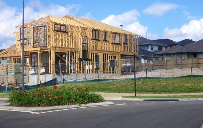 Twostoreyframeand houses